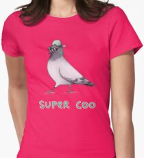 Super Coo Womens Fitted T-Shirt