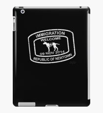 Republic of Newtown - 2014: White iPad Case/Skin