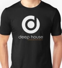 Deep House Music DJ Love the Beats Slim Fit T-Shirt