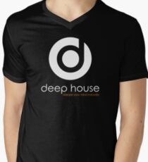 Deep House Music DJ Love the Beats Men's V-Neck T-Shirt