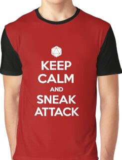 Keep calm and sneak attack Graphic T-Shirt
