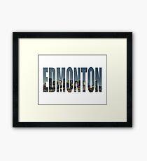 Edmonton Framed Print