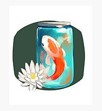Koi Jar Photographic Print