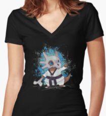 Hya Women's Fitted V-Neck T-Shirt