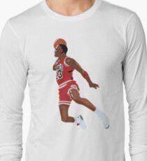 MJ Sticker Long Sleeve T-Shirt