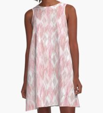 Harlequin Marble Mix Blush A-Line Dress