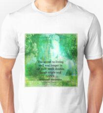 Positive Message Tibetan Proverb Unisex T-Shirt
