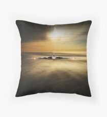 Vulcan Head On Throw Pillow