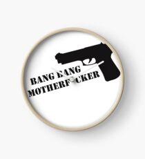 Bang Bang  Clock