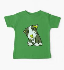 Cute Bull Terrier Puppy  Kids Clothes