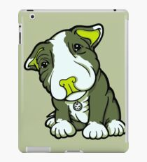 Cute Bull Terrier Puppy  iPad Case/Skin