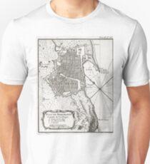 Plan of Barcelona - 1764 Unisex T-Shirt