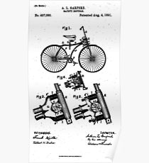 Safety Bicycle - Patent Poster