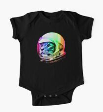 Astronaut Space Cat (digital rainbow version) One Piece - Short Sleeve