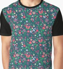 Folky Florals Graphic T-Shirt