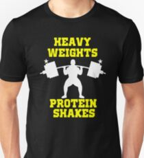 Weightlifting shirt Heavy weights Protein Shakes T-Shirt