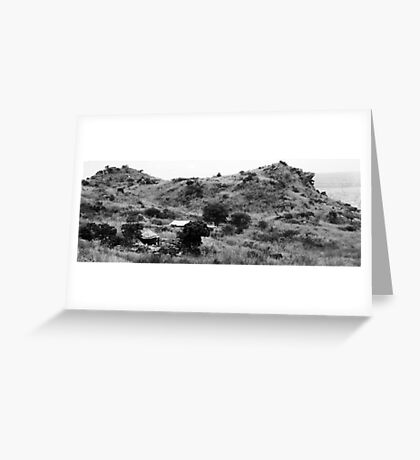 Hilltop House Greeting Card