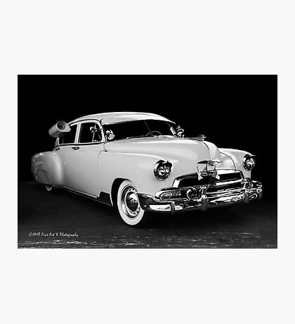 Back In Time, A Classic Chevy Photographic Print