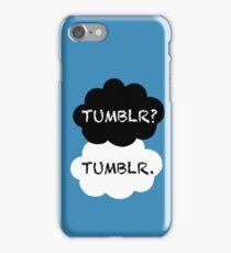 Tumblr/TFIOS iPhone Case/Skin