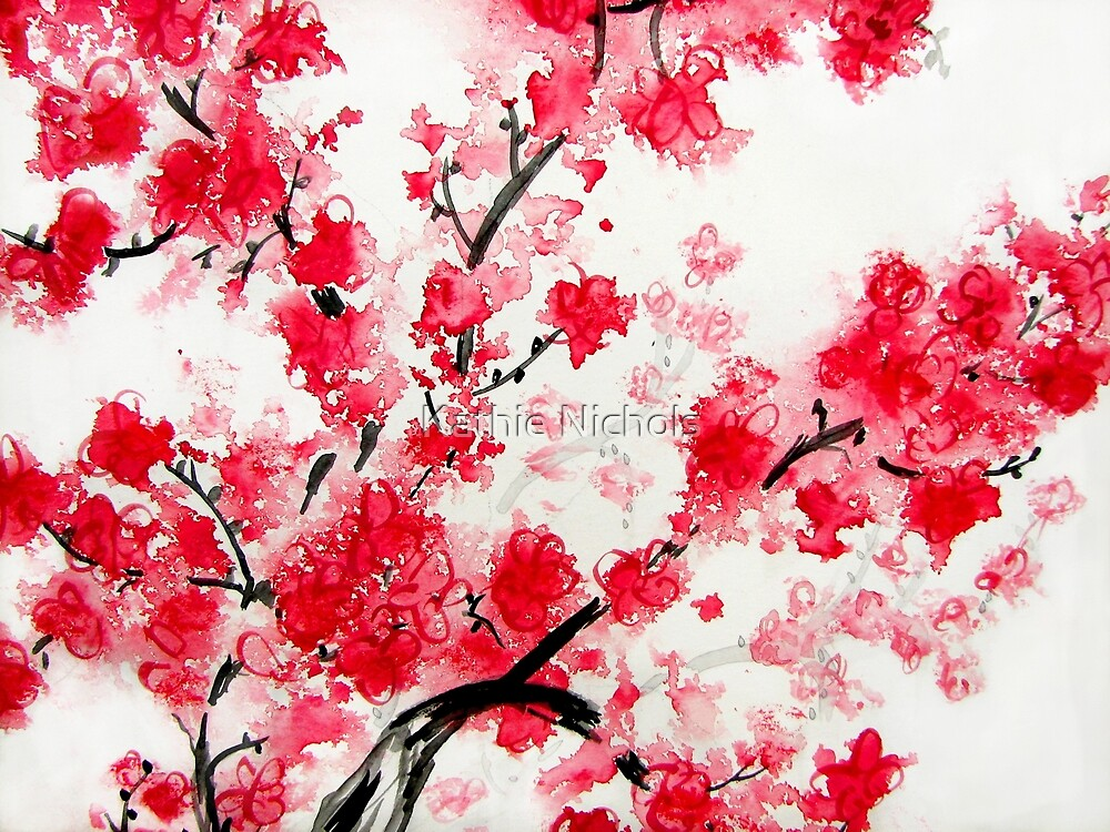 """Cherry Blossoms"" by Kathie Nichols 