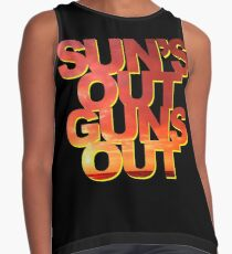 Sun's Out Guns Out Contrast Tank