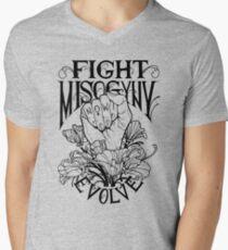 Fight Misogyny Men's V-Neck T-Shirt