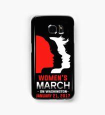Womens march on Washington January 21 2017 T-shirt Samsung Galaxy Case/Skin
