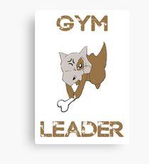 Cubone Gym Leader Canvas Print