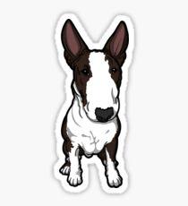Frank The English Bull Terrier Sticker