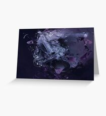 Abstract Mist Greeting Card