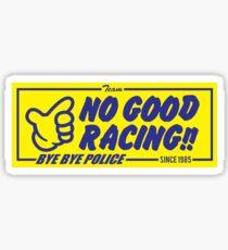 NO GOOD RACING - BYE BYE POLICE Sticker