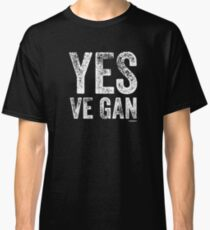 Funny Vegan T-Shirt | YES VE-GAN Classic T-Shirt