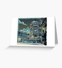 Opéra de Paris at Night Greeting Card