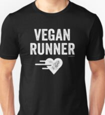 Vegan Runner T-Shirt Unisex T-Shirt