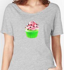 Watermelon Cupcake  Women's Relaxed Fit T-Shirt