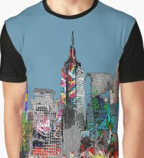 New York City Graffiti Graphic T-Shirt