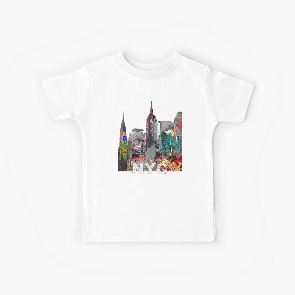 New Yorker Graffiti Kinder T-Shirt