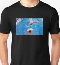 LANE #4 ...BIG FINISH Unisex T-Shirt
