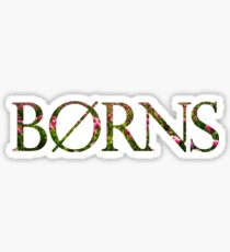 Borns Sunflowers Sticker