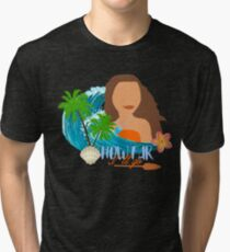 How far I'll go Tri-blend T-Shirt