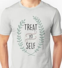 Treat Yo Self - Tom Haverford T-Shirt