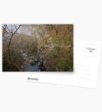 Canyon view Postcards
