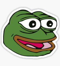 Happy Pepe, The Frog Sticker
