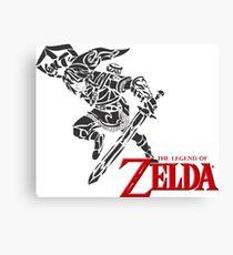 Zelda Legends Canvas Print