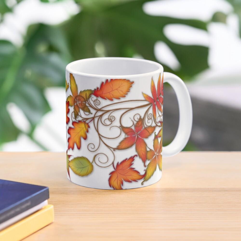 Autumn Leaves - panel Mug