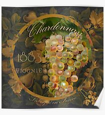 Wines of France Chardonnay Poster