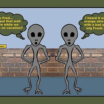 No Aliens by JLHDesign