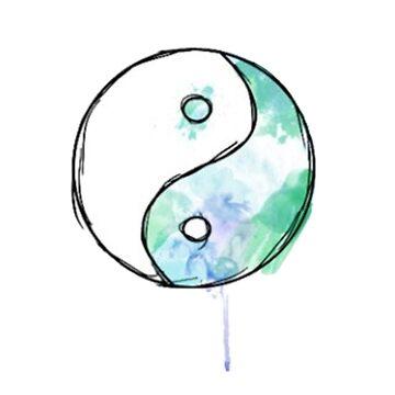 Acuarela Yin Yang de effydev