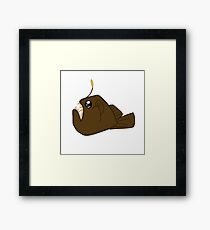Daydreaming Angler Framed Print