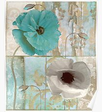 Beach Poppies II Poster